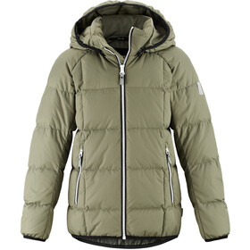 Reima Jord Down Jacket Ungdom greyish green